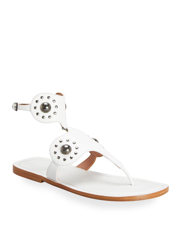 Edition 2007 Studded Calfskin Sandals
