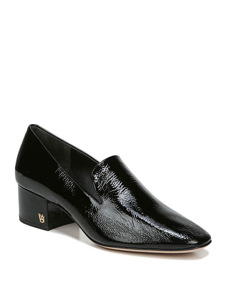 Veronica Beard Baylie Patent Leather Loafers