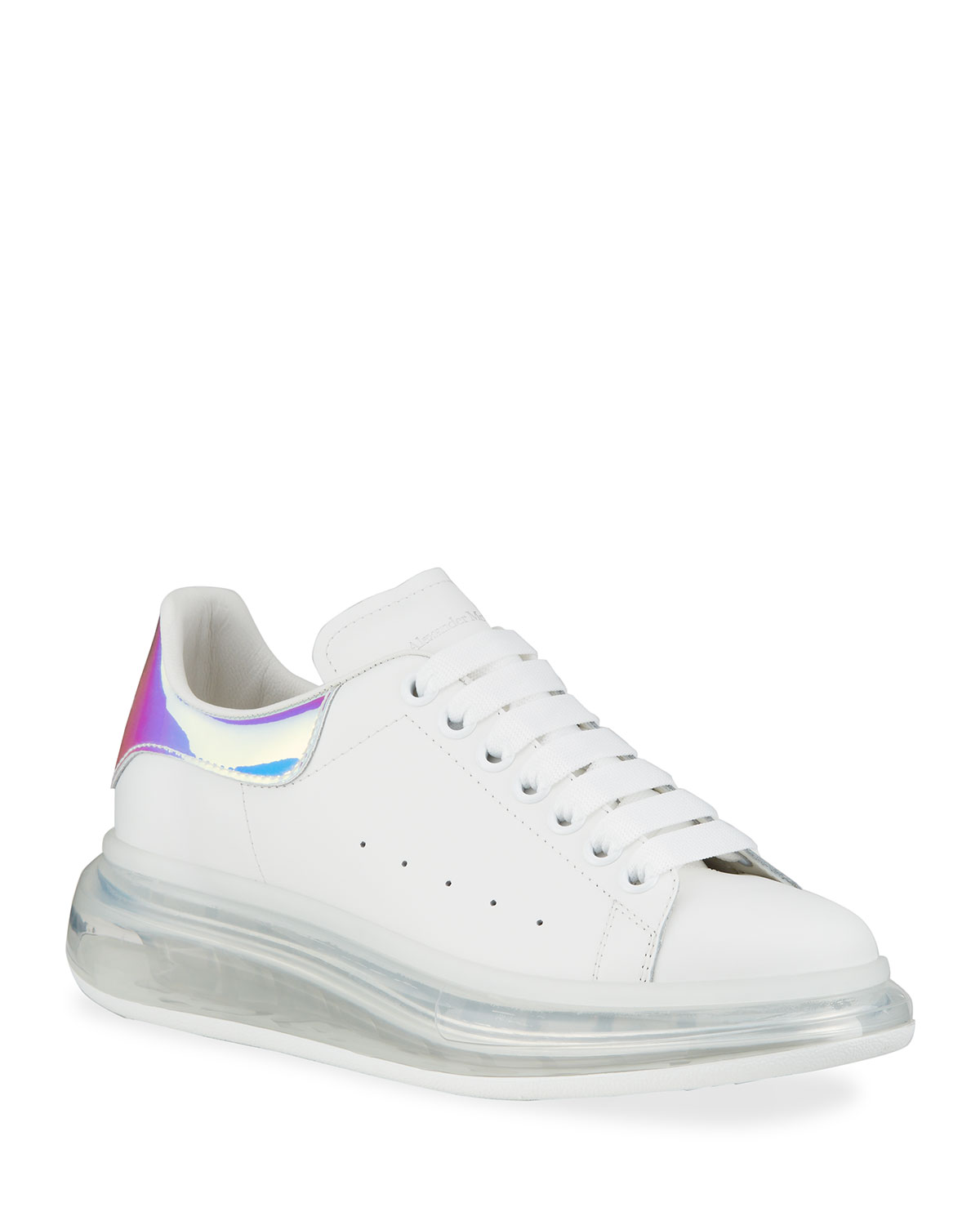 Transparent Oversized Sneakers