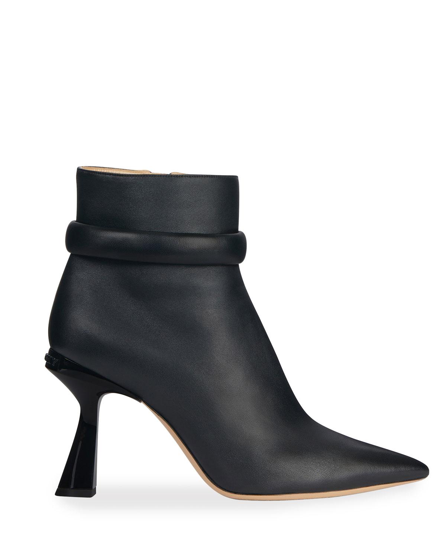 Carene 95mm Logo-Heel Ankle Booties
