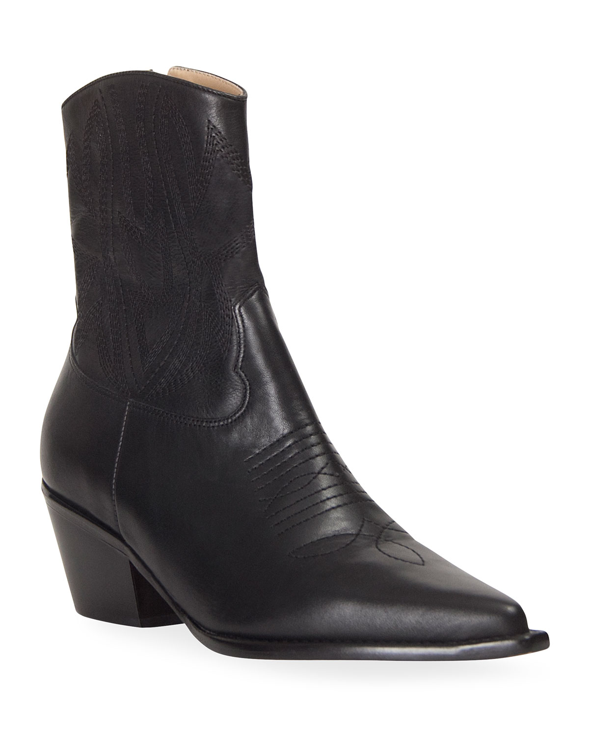 Kaia Western Ankle Booties
