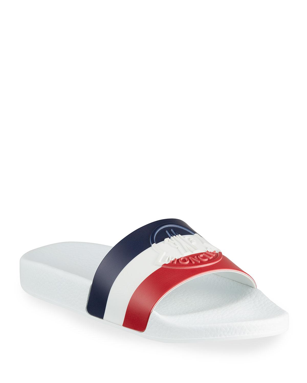 Jeanne Logo Pool Sandals