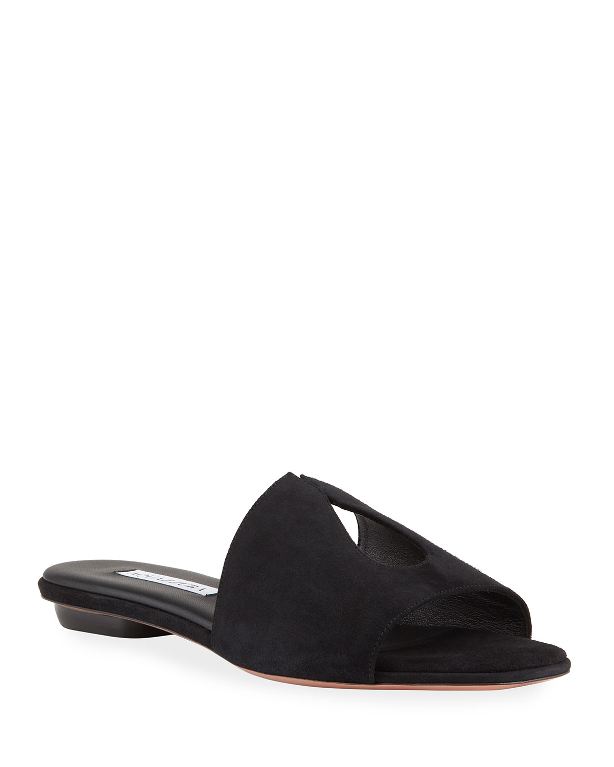 Sexy Thing Suede Slide Sandals