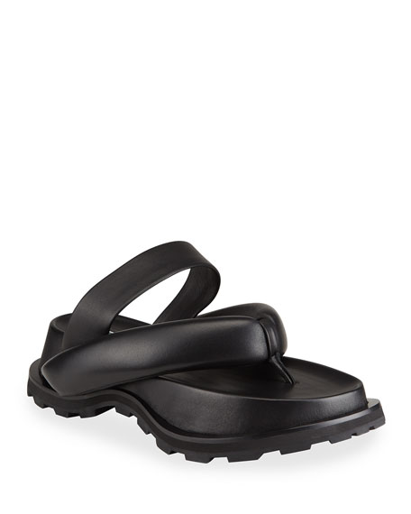 Jil Sander Thong Napa Slide Sandals