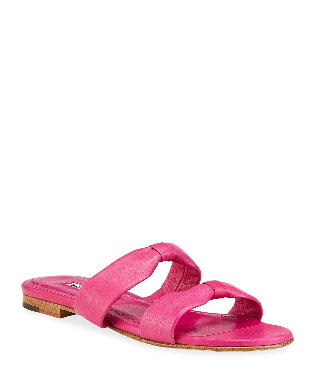 Pallera Knotted Slide Sandals