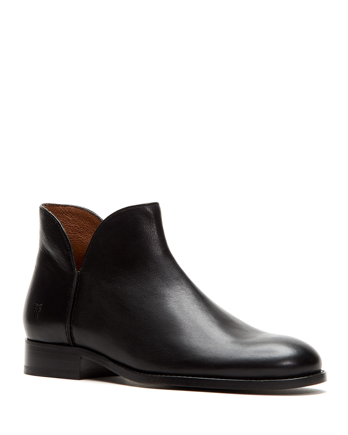 Melissa Leather Ankle Booties