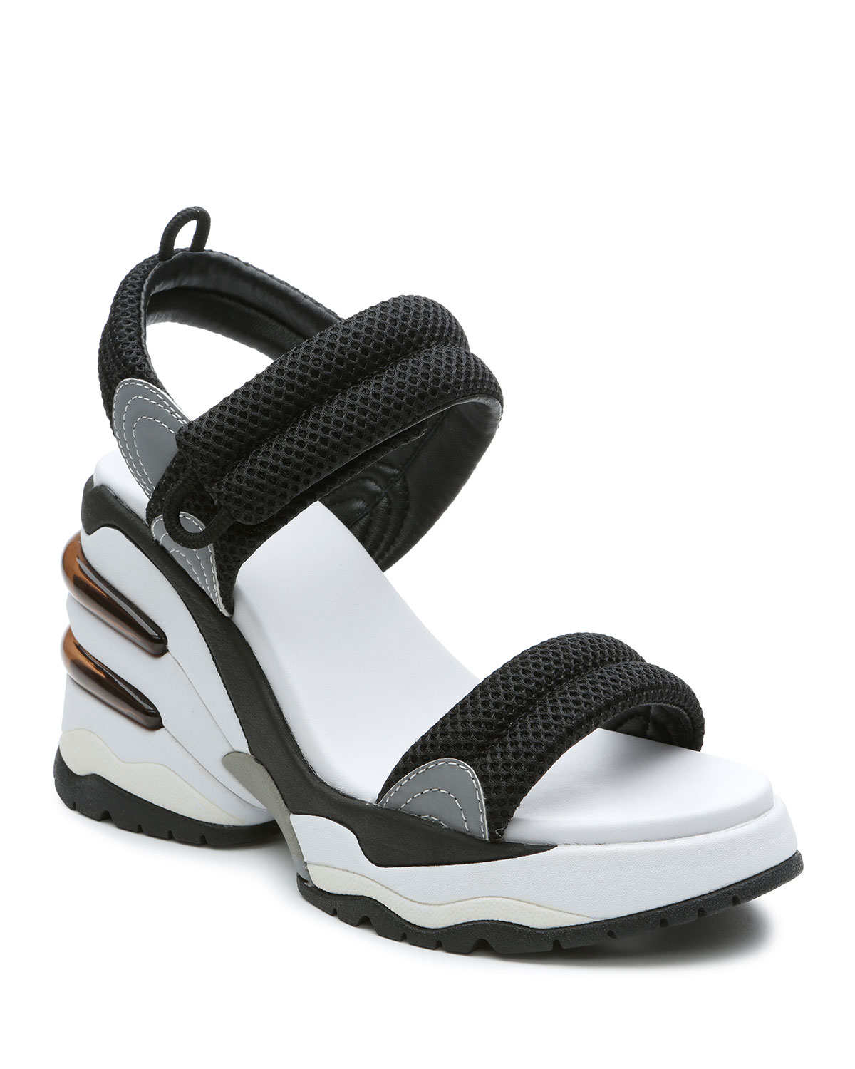 Cosmos Chunky-Heel Sporty Sandals