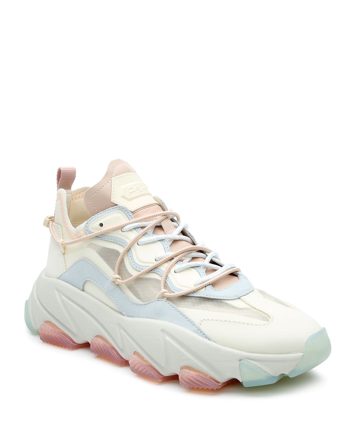Ash Platforms EXTRA BIS PASTEL LEATHER CHUNKY SNEAKERS
