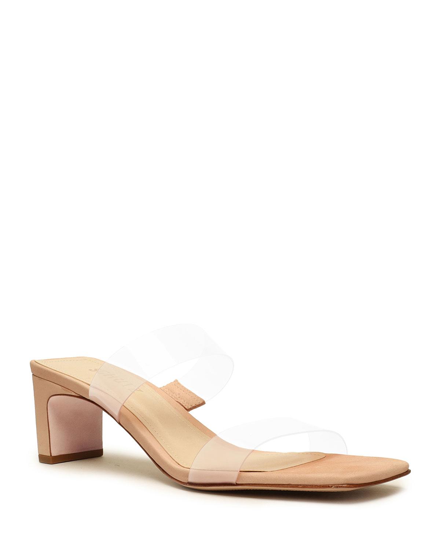 Taina Vinyl Mule Sandals