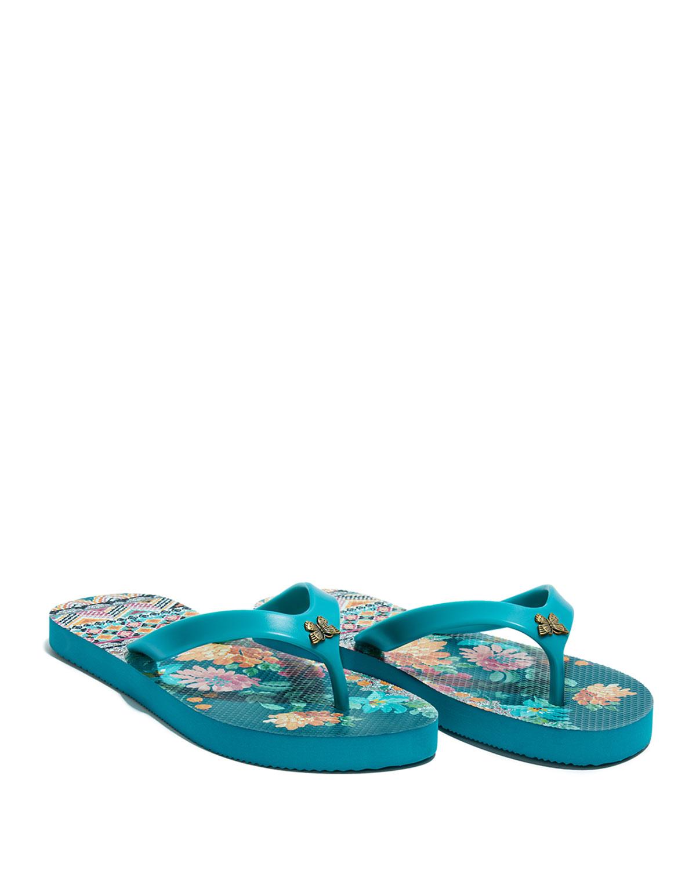Sonoma Floral Flip Flop Thong Sandals
