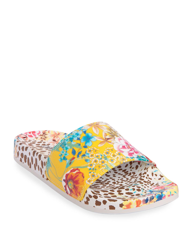 Wildflower Pool Slide Sandals