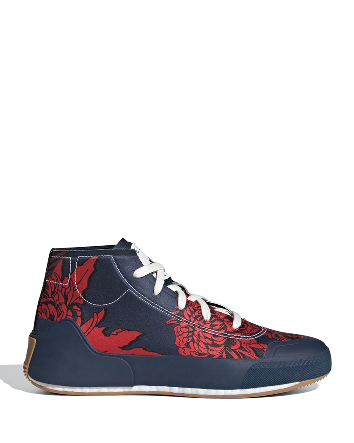 Treino Stretch Mid-Top Floral Sneakers