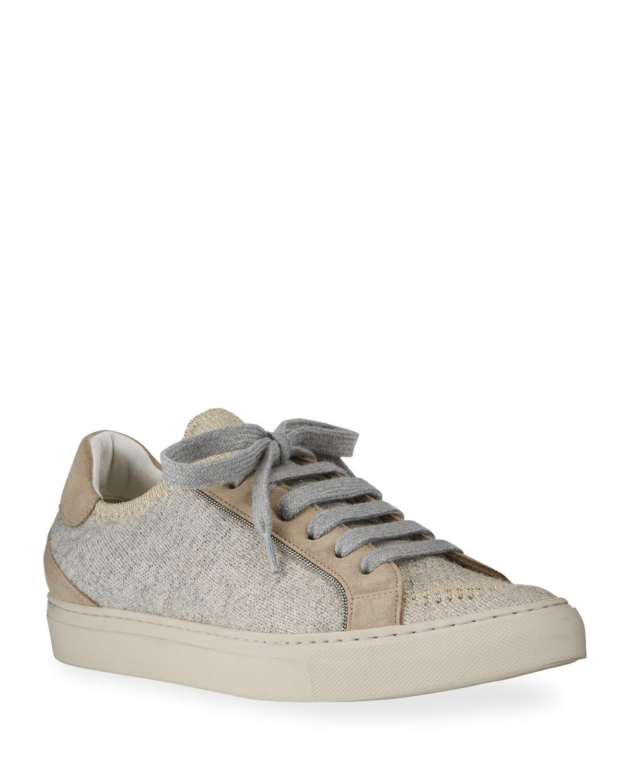 Knit Monili Tennis Sneakers