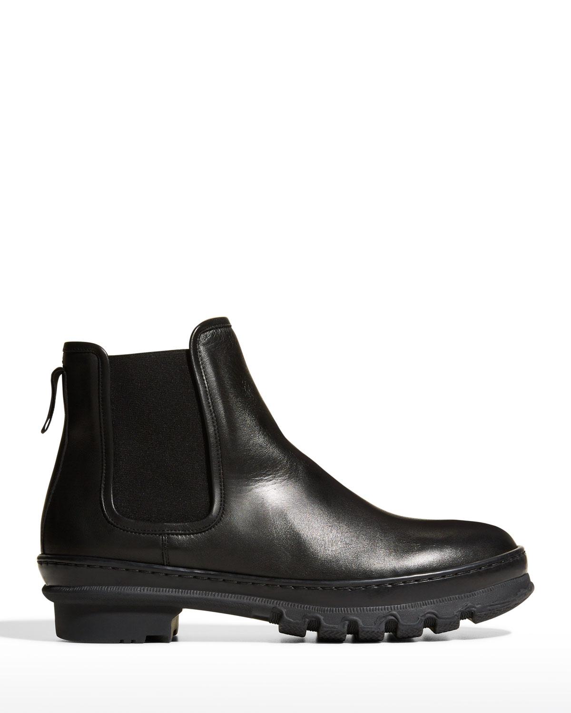 Leather Short Chelsea Garden Boots