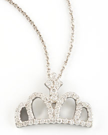 Roberto Coin -  Diamond Crown Necklace -  Neiman Marcus from neimanmarcus.com