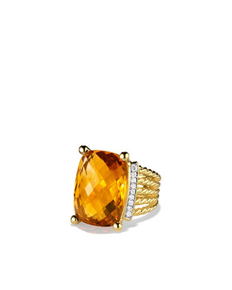 20x15mm Citrine Wheaton Ring