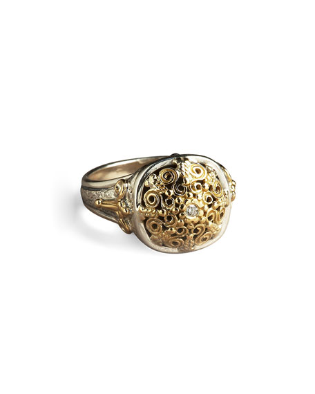 Konstantino Ornate Diamond Ring