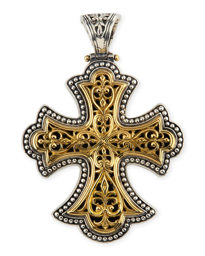 Flared Cross Pendant