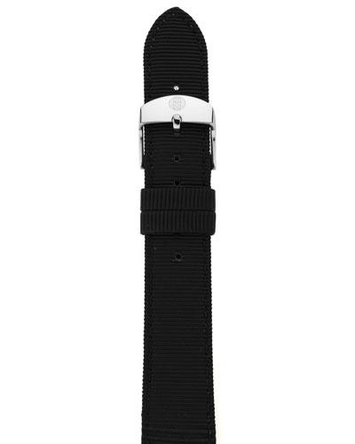 16mm Grosgrain Strap, Black