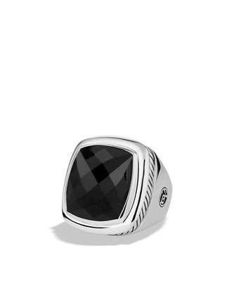 20mm Black Onyx Albion Ring