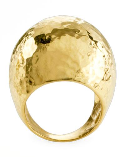 Glamazon 18k Gold Dome Ring