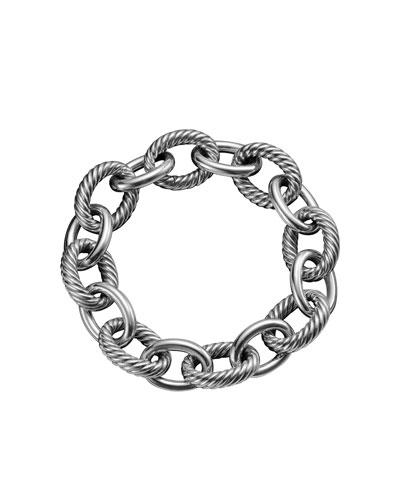 Extra Large Oval Link Bracelet