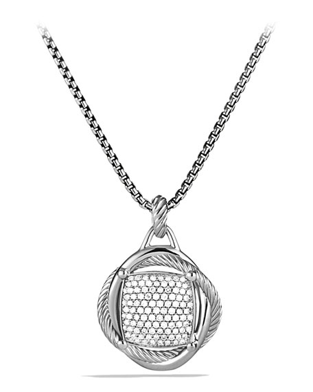 David Yurman 20mm Pave Diamond Infinity Enhancer