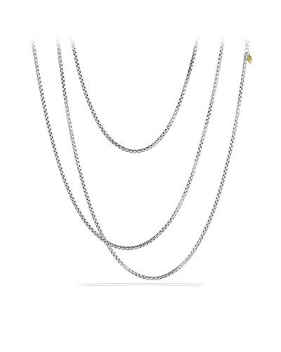Medium Box Chain with Gold, 72