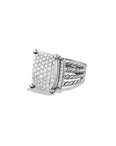 Wheaton Ring with Diamonds