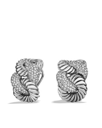 Pave Diamond Cordelia Earrings