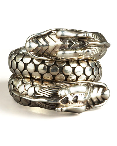 Naga Head Coil Ring