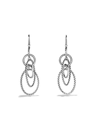 Pave Diamond Mobile Earrings