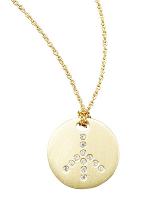 Diamond Medallion Necklaces