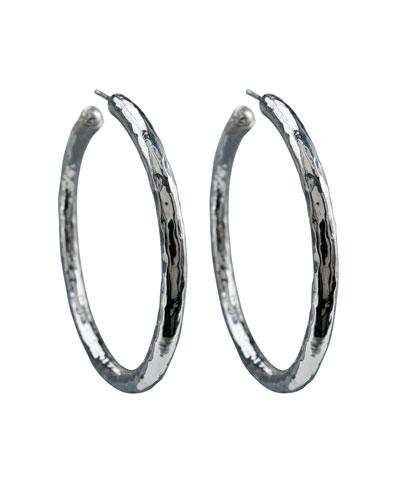 Glamazon Hoop Earrings, Medium