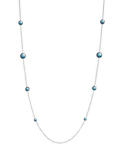 Lollipop London Topaz Necklace, 38