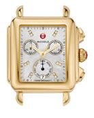 18mm Deco Diamond Dial Watch Head, Gold