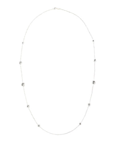 Lollipop Clear Quartz Necklace, 37