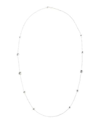 Lollipop Clear Quartz Necklace, 37