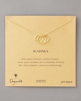 Three-Ring Karma Necklace