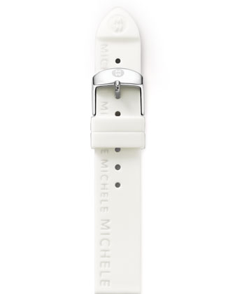 16mm Silicon Strap, White