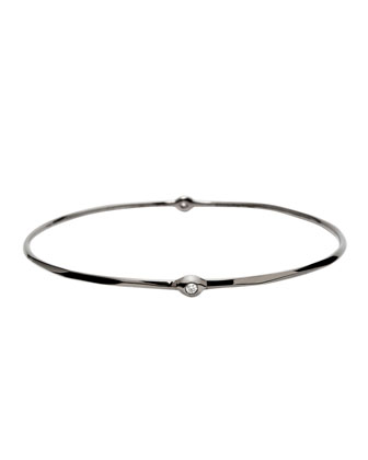 Two-Diamond Station Bangle