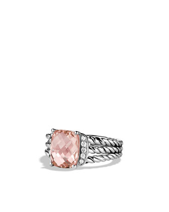 Petite Wheaton Ring, Morganite