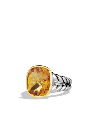 Noblese Ring, Citrine