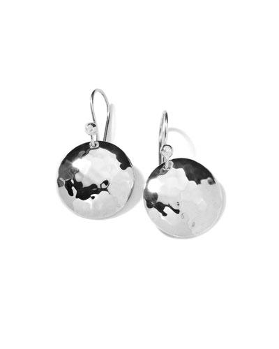 Diamond & Sterling Silver Earrings