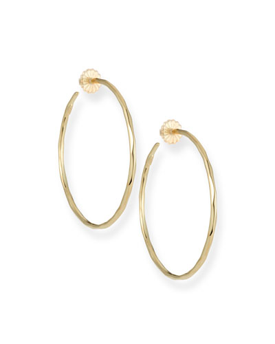 Ippolita 18k 6 Glamazon Squiggle Hoop Earrings XkjLaQm