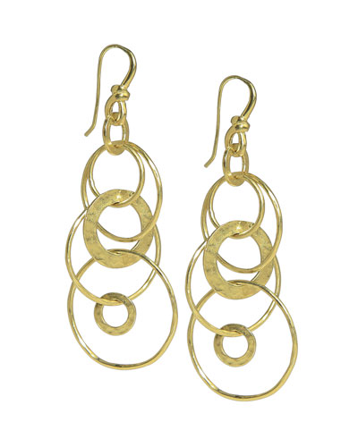 Glamazon Multi-Link Jet-Set Earrings