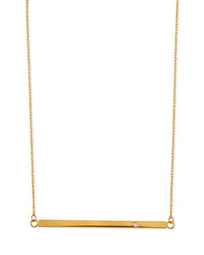 Bar-Pendant Necklace