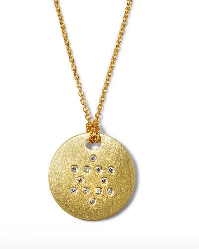 Star of David Medallion Necklace