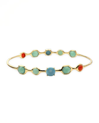 Rock Candy Bangle, Riviera Sky