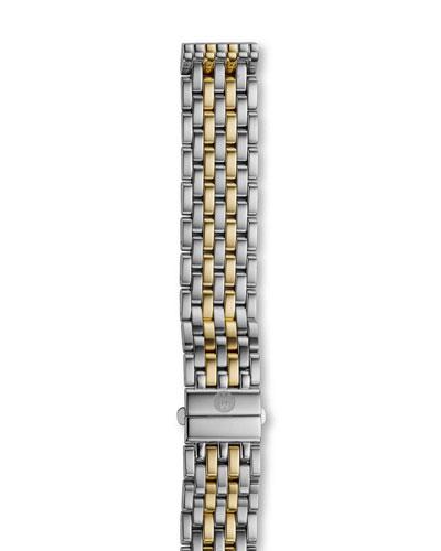 16mm Deco Bracelet Strap, Two-Tone